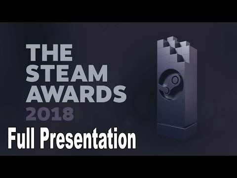 The Steam Awards 2018 - Full Presentation [HD 1080P]