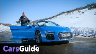 Audi R8 Spyder 2017 review: road test video