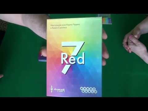 Red7 - играем в настольную игру.