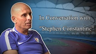 Exclusive: Interview with India football coach Stephen Constantine