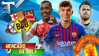 MERCADO DA BOLA ➦ KAI HAVERTZ ENTRA NA MIRA DO BARÇA, CHELSEA QUER RAMSEY, TIELEMANS NO ARSENAL