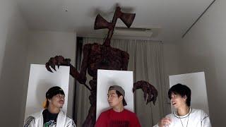 【Siren Head prank】サイレンヘッドが家に突然入ってくるドッキリで神反応www