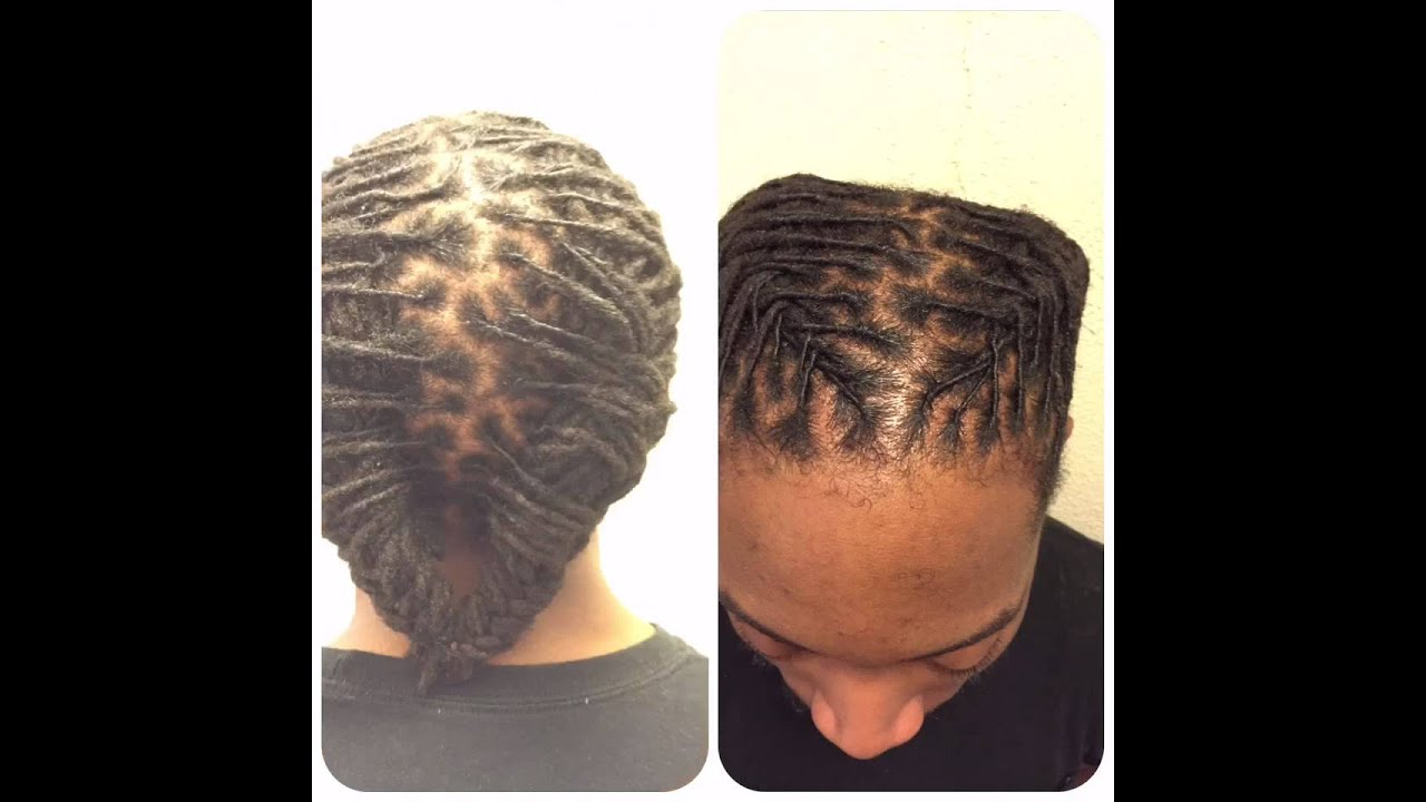 Dread Styles For Short Locs For Men   YouTube