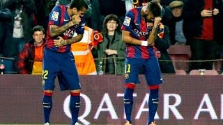 Repeat youtube video Neymar & Alves, Tchu Tcha Tcha ● Let's celebrate ● HD