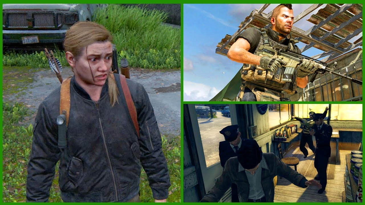 Cool Video Game Details #13 (The Last Of Us Part II, Mafia 2, Modern Warfare 2 & More)