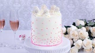 Кокосовый бисквитный торт с Раффаелло и Ананасами. Самый вкусный и красивый Торт!