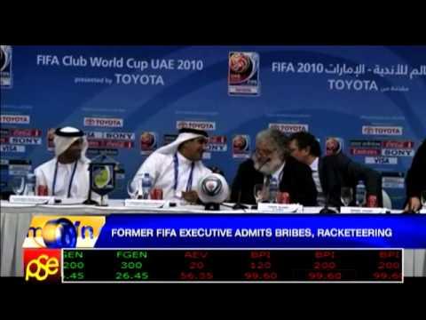 Former FIFA exec admits bribes, racketeering