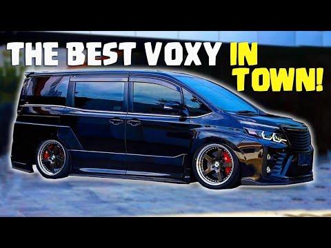 Modifikasi Habis-habisan Toyota Voxy! Over Fender, Air Suspension, dan Supercharger | ModifVLOG #68