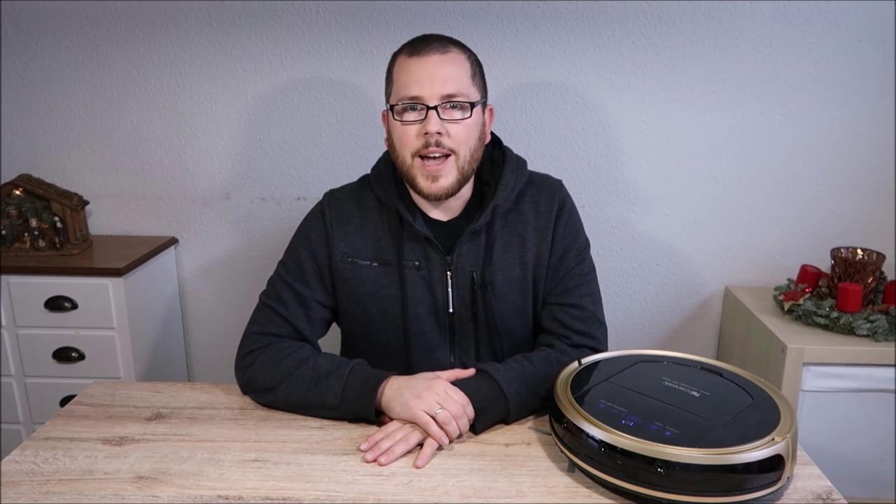 proscenic 790t saug und wischroboter mit alexa skill im test youtube. Black Bedroom Furniture Sets. Home Design Ideas