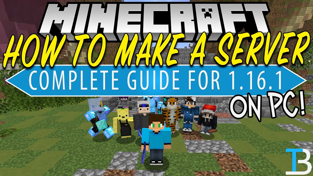 How To Make a Minecraft Server on PC (9.96.9)