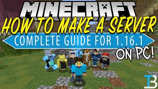 How To Make a Minecraft Server on PC (1.16.1)