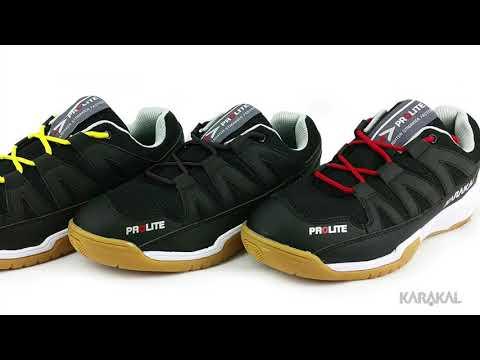 Karakal Prolite Squash Badminton Court Shoe Classic Black