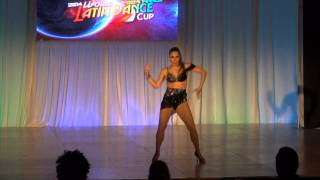 ABDA DANCERS NURSEL CAN - WLDC MIAMI FEMALE SALSA SOLOIST TURKEY 2014