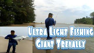 Ultra Light Fishing #Strike Baby GT 7Kg with lure Senses Savior 52sd.