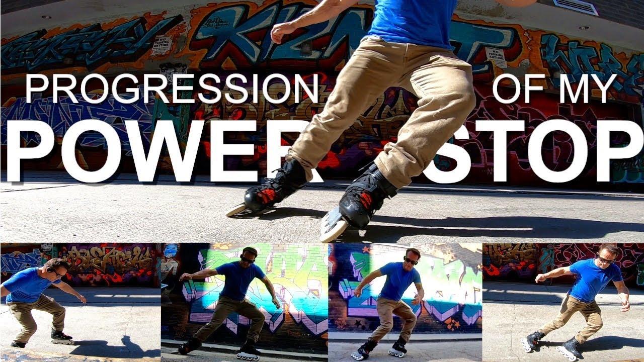 From Heel Brake To PowerStop  -My Progression