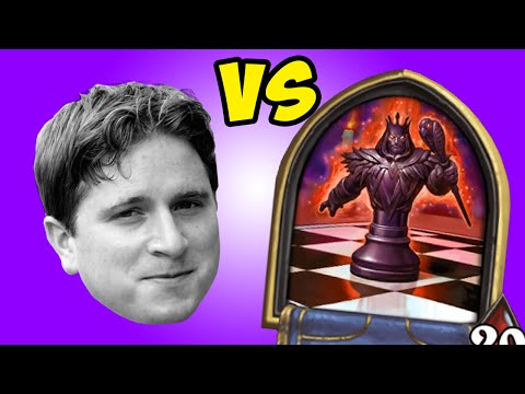 [Hearthstone] TWITCH CHAT vs. KARAZHAN CHESS - Sponsored by Amazon