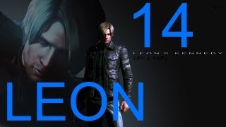 Resident Evil 6 walkthrough - part 14 HD Leon walkthrough gameplay RE6 Full Game walkthrough