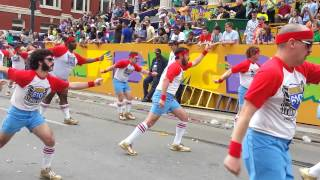610 Stompers at Thoth Parade - Mardi Gras 2014