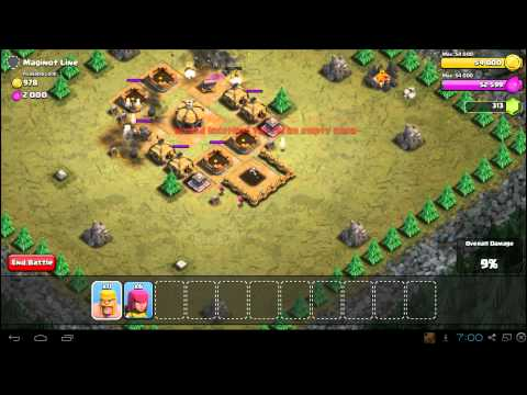 Clash Of Clans Maginot Line Strategy Guide & 3 Star Walkthrough