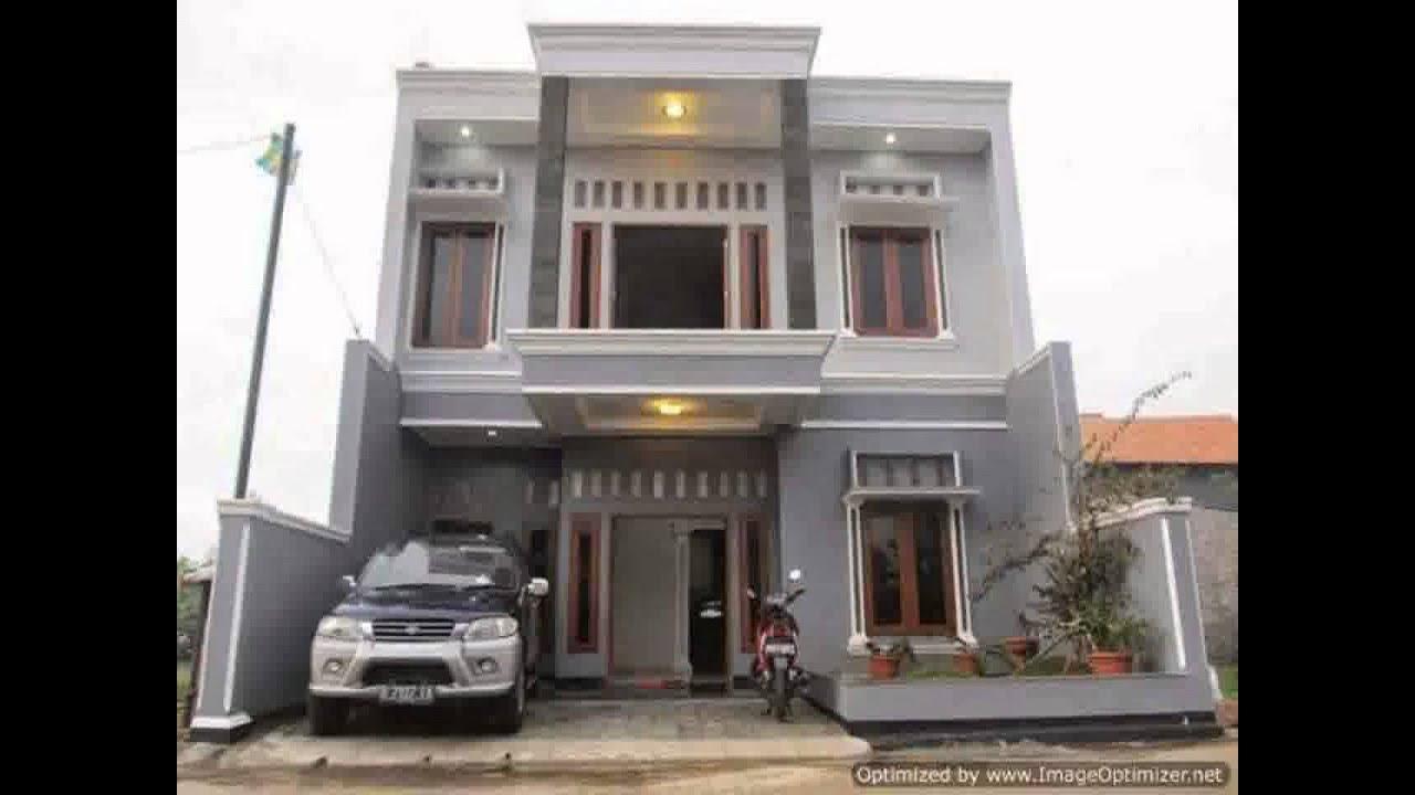 65 Desain Rumah Minimalis Bertingkat Terbaru  Desain