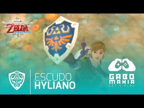 Escudo Hyliano Zelda Skyward Sword