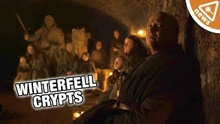 Why the Winterfell Crypt Plan Is the Worst Idea in Game of Thrones! (Nerdist News w/ Jessica Chobot)