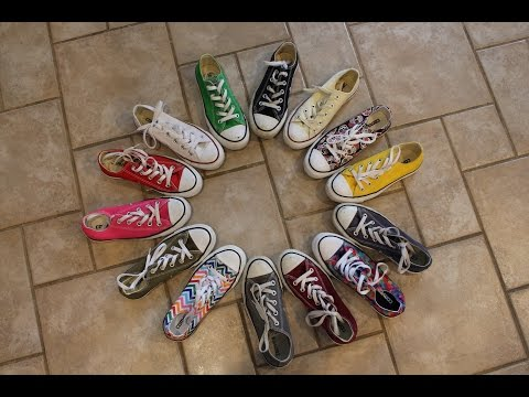 COLORFULL CONVERSE Shoe Collection!!!!