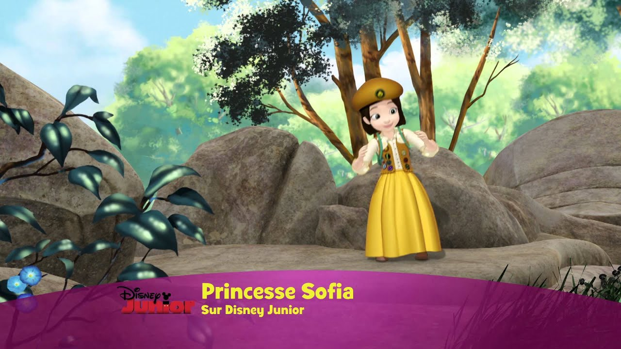 Princesse Sofia Chanson Les Boutons D Or Youtube