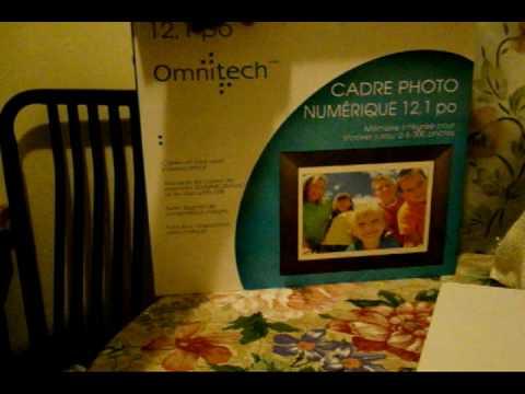 Amazon. Com: 12. 1 in. Digital photo frame by omnitech: digital.