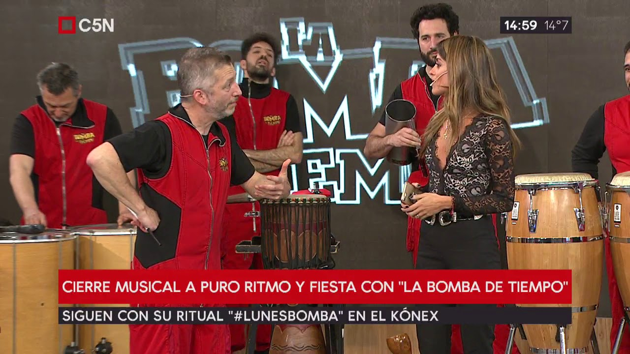 "TardeXTRA: Cierre musical con ""La Bomba del Tiempo"""