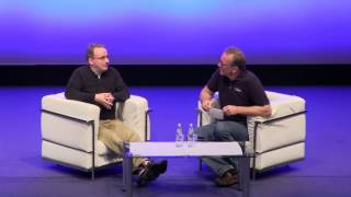 Linus Torvalds Interviewed on Stage at LinuxCon + CloudOpen Europe 2013