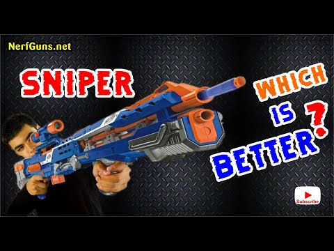 Nerf Sniper Rifle Which Is Better How To Save Money