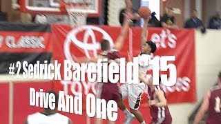 # 2 Sedrick Barefield '15, Drive And One vs. Cantwell, 12/26/14
