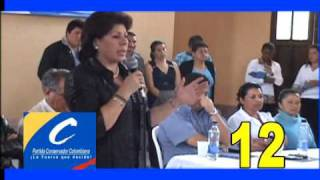 VISITA DE MYRIAM PAREDES EN SANTIAGO - PUTUMAYO
