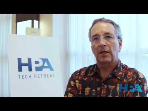 Jerry Pierce on HPA Tech Retreat UK
