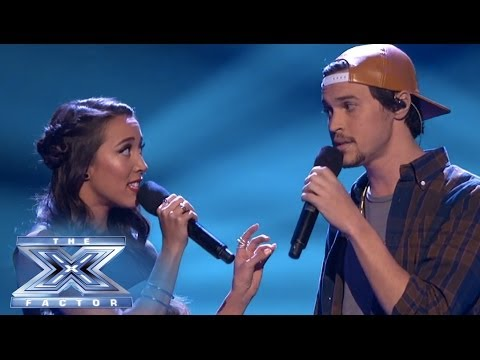 Alex & Sierra Speak Loudly with 'Little Talks' - THE X FACTOR USA 2013