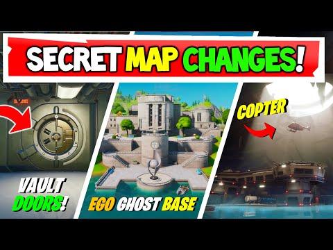 All New Map Changes Fortnite SEASON 2: