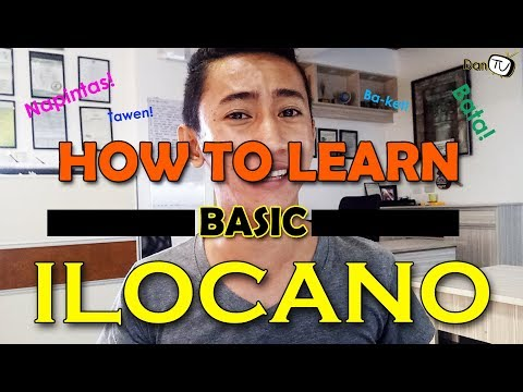 ✅How to learn Basic Ilocano: Words and Phrases (watch