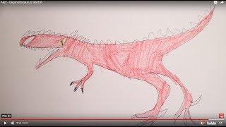 Alex - Giganotosaurus Sketch