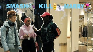 MARRY, KILL, OR SMASH | Public Interview!!(REALLY FUNNY MUST WATCH)
