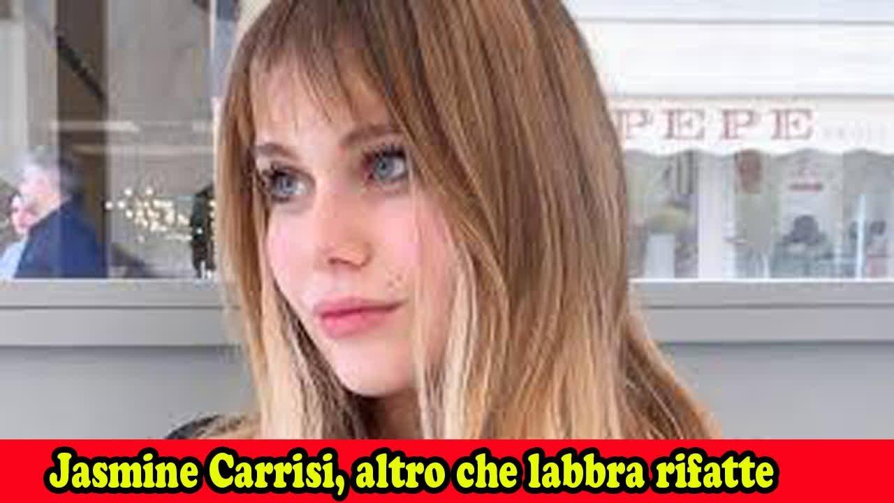 Jasmine Carrisi, altro che labbra rifatte: ecco il suo grande segreto