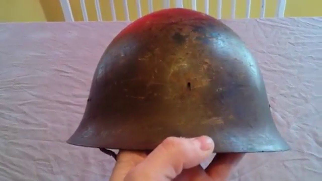 My World War Two Type 90 Japanese Helmet