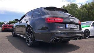 Audi RS6 Avant C7 vs Nissan GTR vs BMW M5 Dinan vs C55 AMG