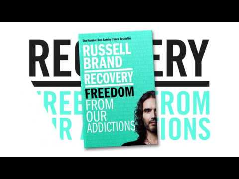 Russell Brand introduces his book Recovery: Freedom From Our Addictions