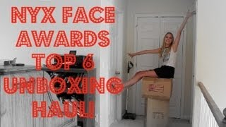 Nyx Face Awards Top 6 Unboxing Haul Thumbnail