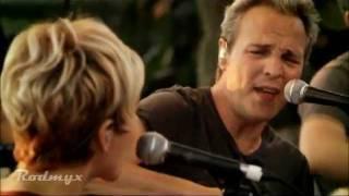 Hombres G - si no te tengo a ti  ( Con Ana Torroja )   En la playa (2011).mpg