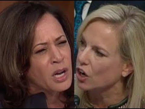 'THAT'S NOT MY QUESTION!!!' Kamala Harris CONFRONTS Trump Lackey Kirstjen Nielsen