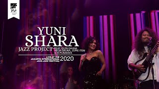 Yuni Shara Jazz Project Akad live at Java Jazz Festival 2020
