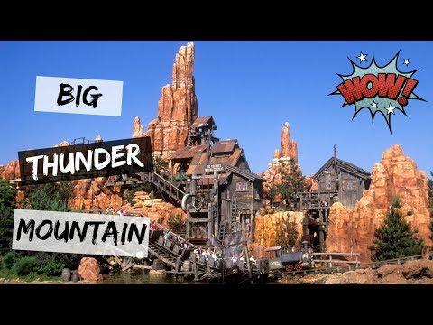 Trajeto da Big Thunder Mountain = Montanha-Russa no Disney Magic Kingdom