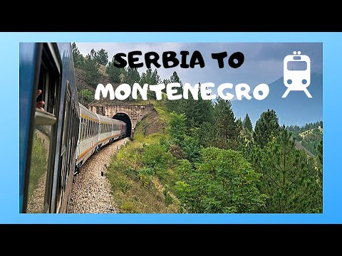 Taking the overnight train from Belgrade (Serbia) to Podgorica (Montenegro)